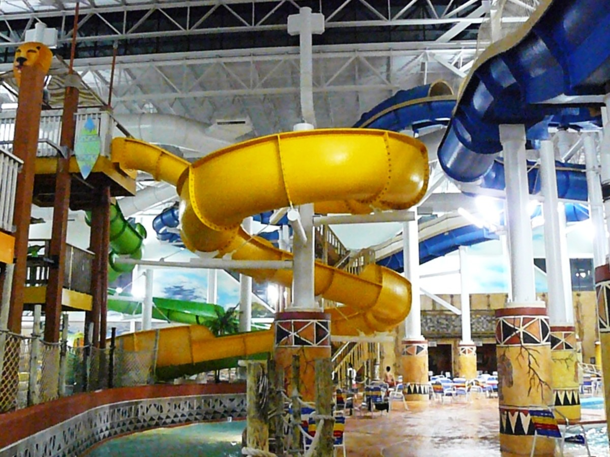 Kalahari Waterpark & Resort in Wisconsin Dells, Wisconsin.