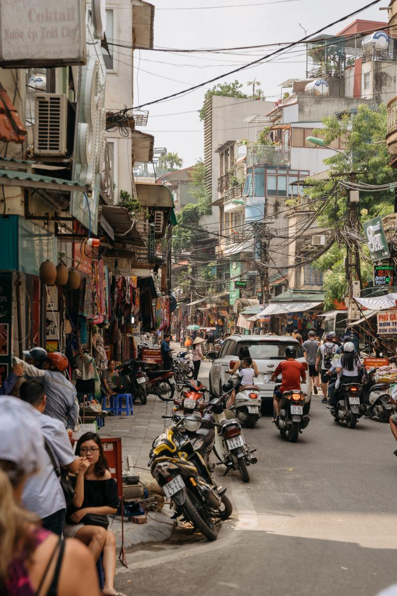 I'd travelled to other large cities in Asia and had high hopes for Hanoi, but there is one major difference I wasn't anticipating.