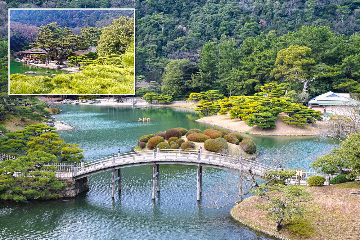 Ritsurin Kōen is the pride and joy of Shikoku, and possibly the region's most beautiful Japanese garden.