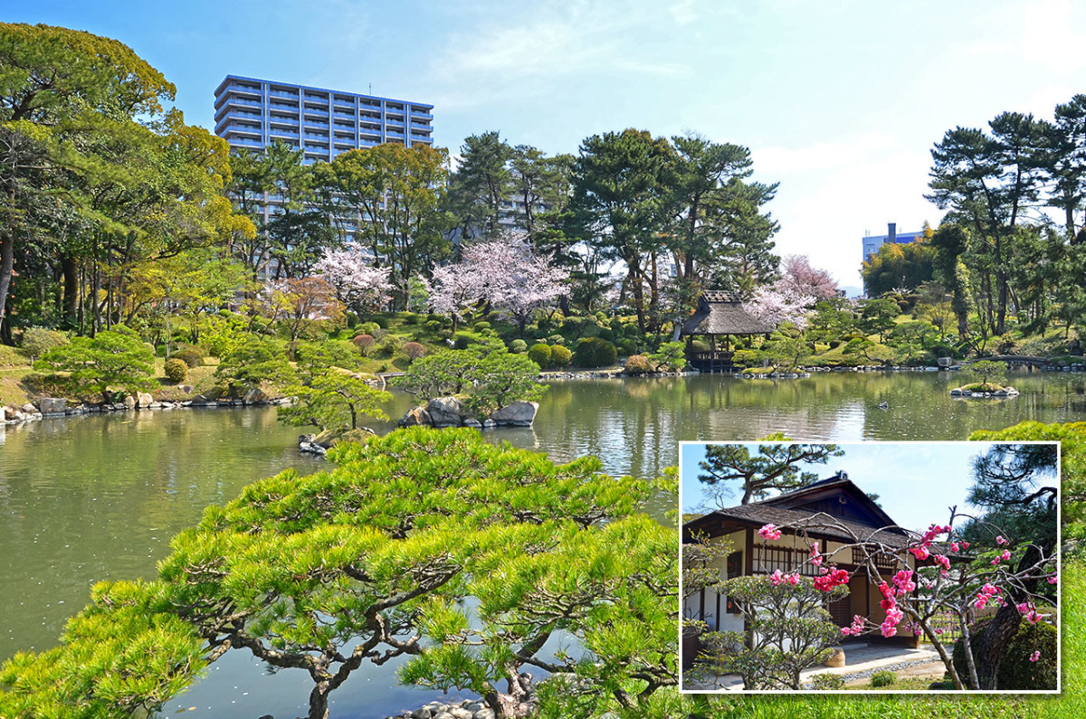 An hour within gorgeous Shukkei-en brings you across mountains, valleys, forests, and even a lake.