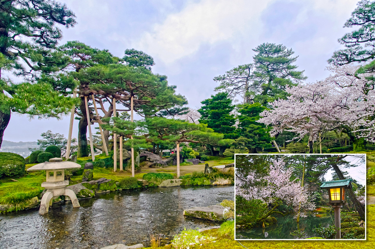 At the heart of Kanazawa is one of the most beautiful Japanese gardens in the world.