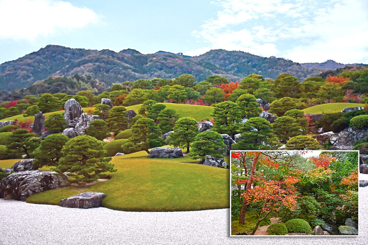 The main garden of Adachi Museum of Art is so mesmerizing, it almost feels unreal.