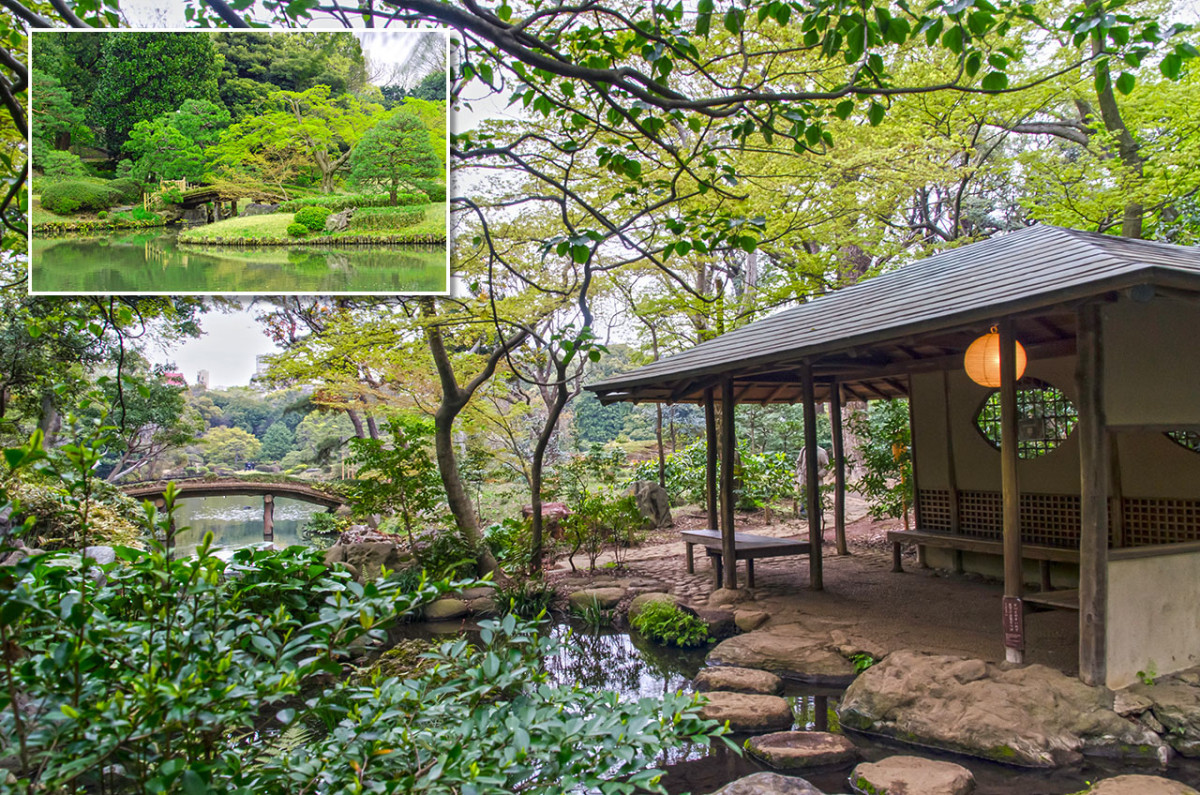 Rustic scenery can be easily enjoyed within Tokyo, thanks to Rikugi-en.