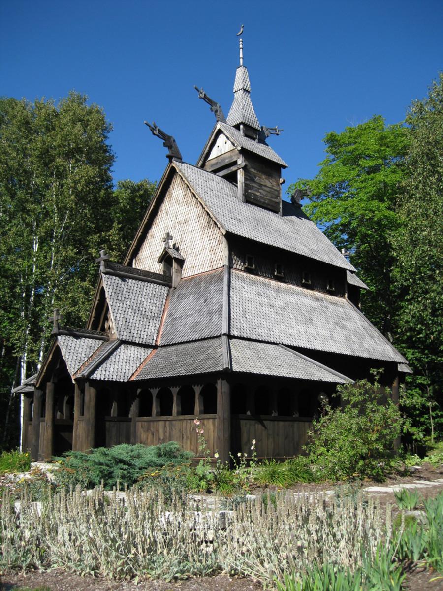 Old church on Washington Island, Door County