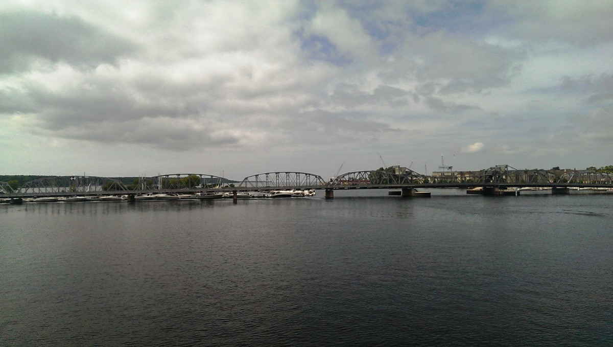 Steel Bridge in Sturgeon Bay, Wisconsin