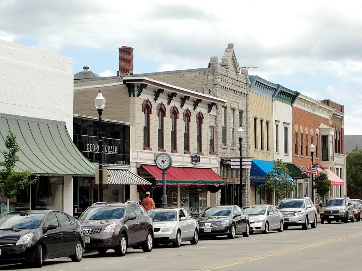 Downtown Sturgeon Bay, Wisconsin