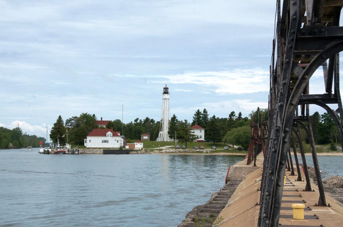 Sturgeon Bay Ship Canal Light in Sturgeon Bay, Wisconsin