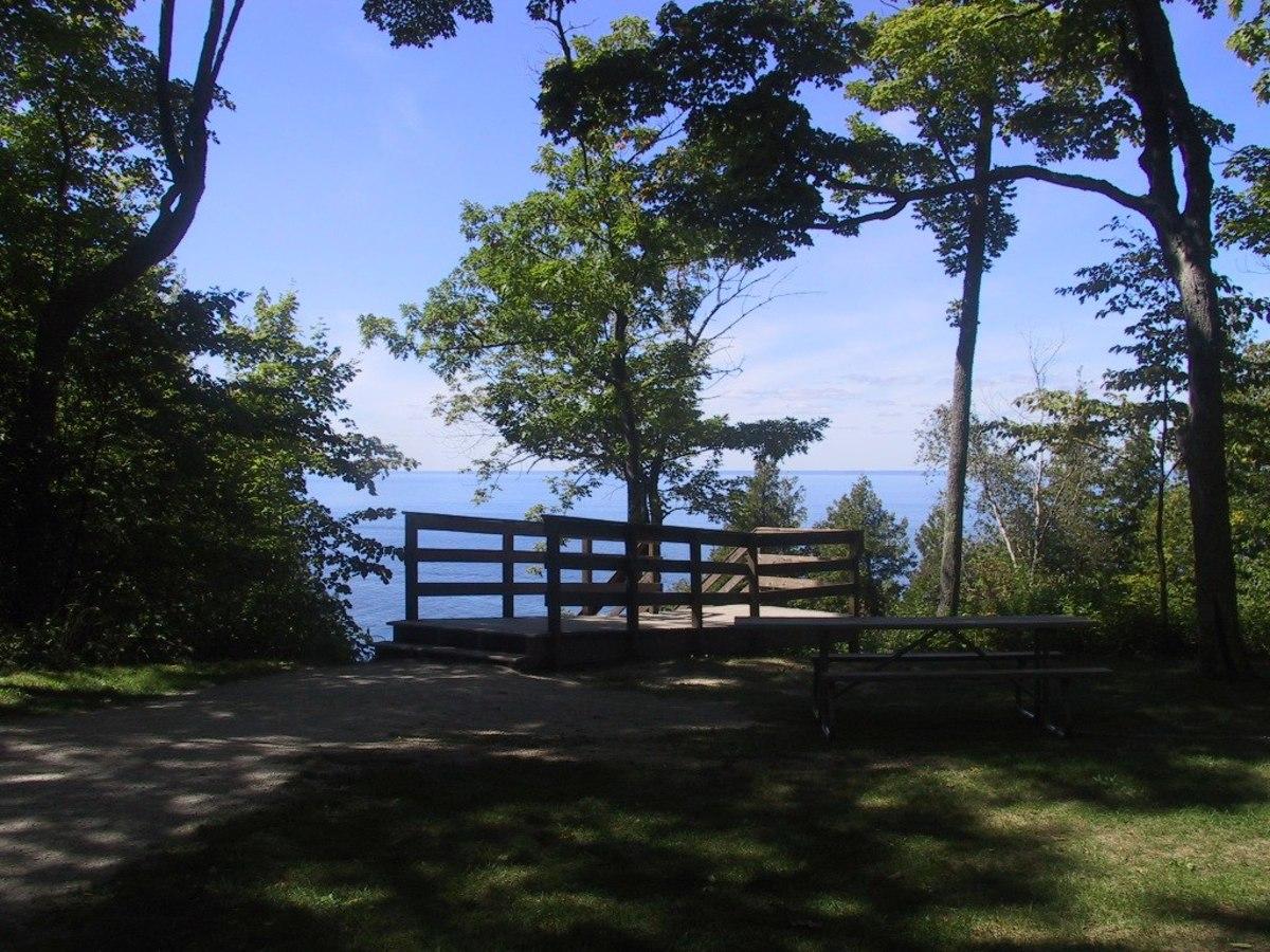 Ellison Bay County Park in Ellison Bay, Wisconsin - Door County