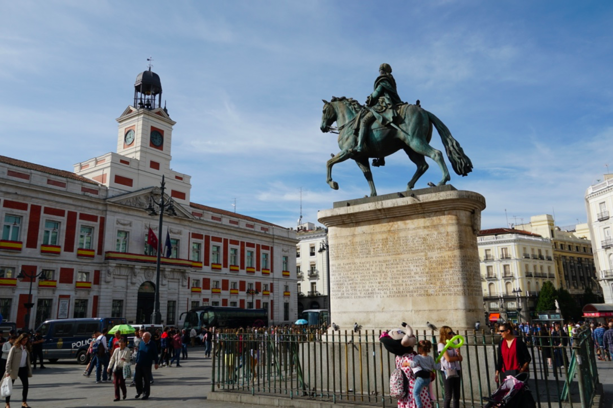 Puerta del Sol - the Sun Gate