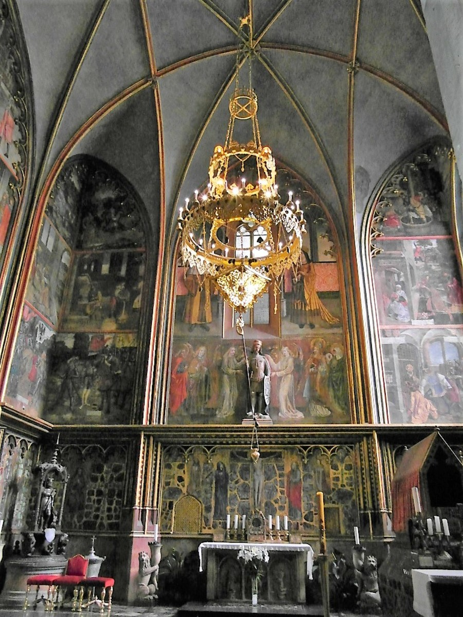 St. Wenceslas Chapel.