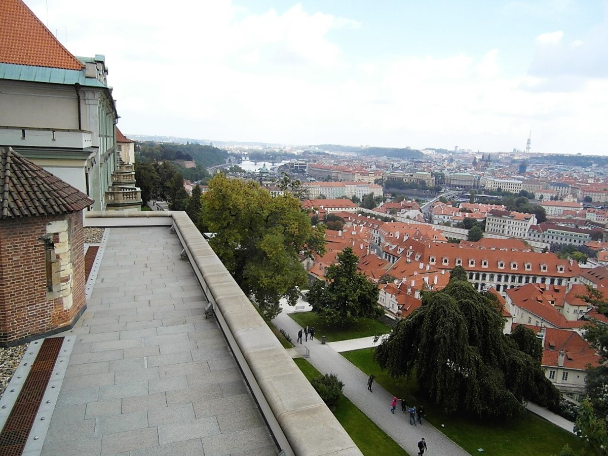 The view from the Old Royal Palace.