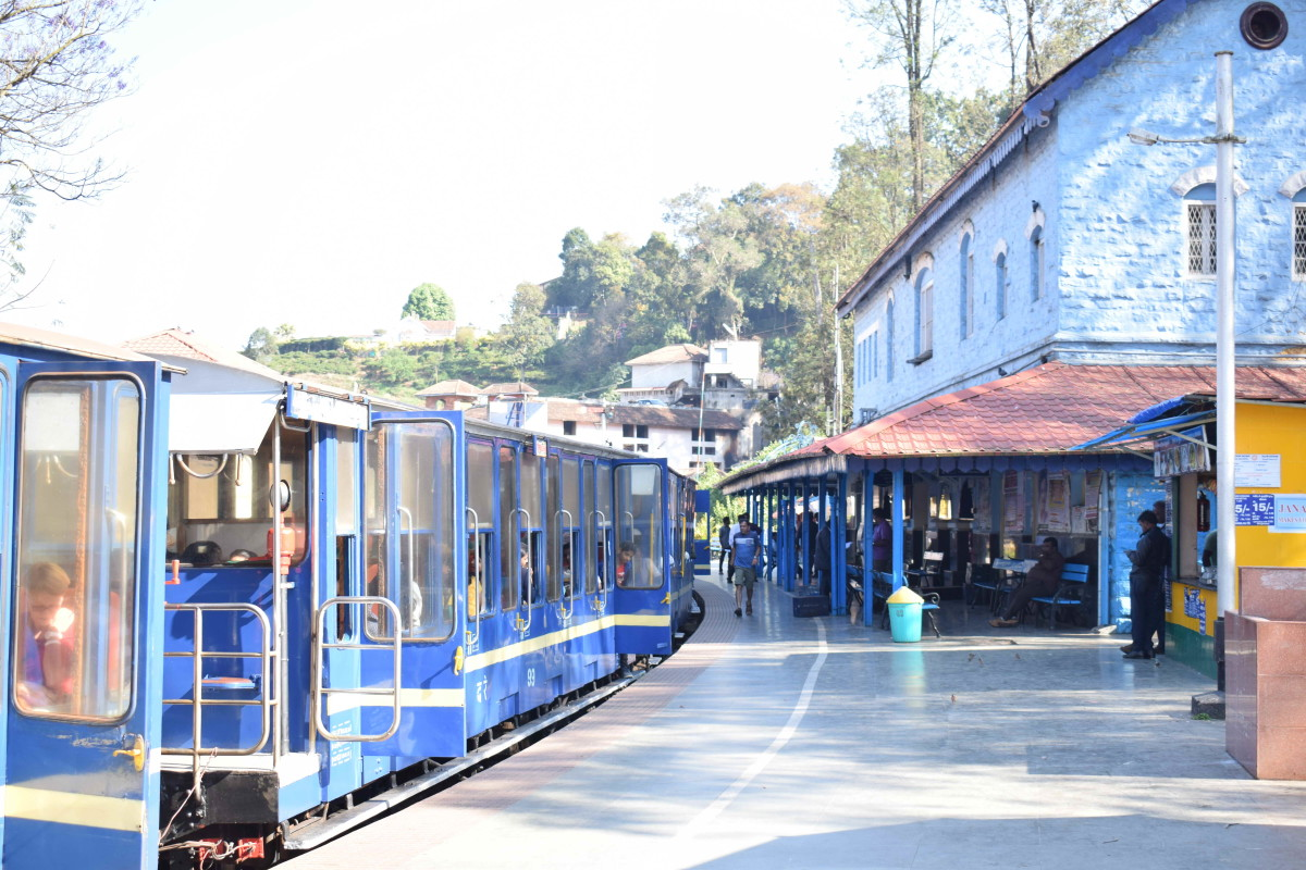 Toy Train at Mettupalayam Station