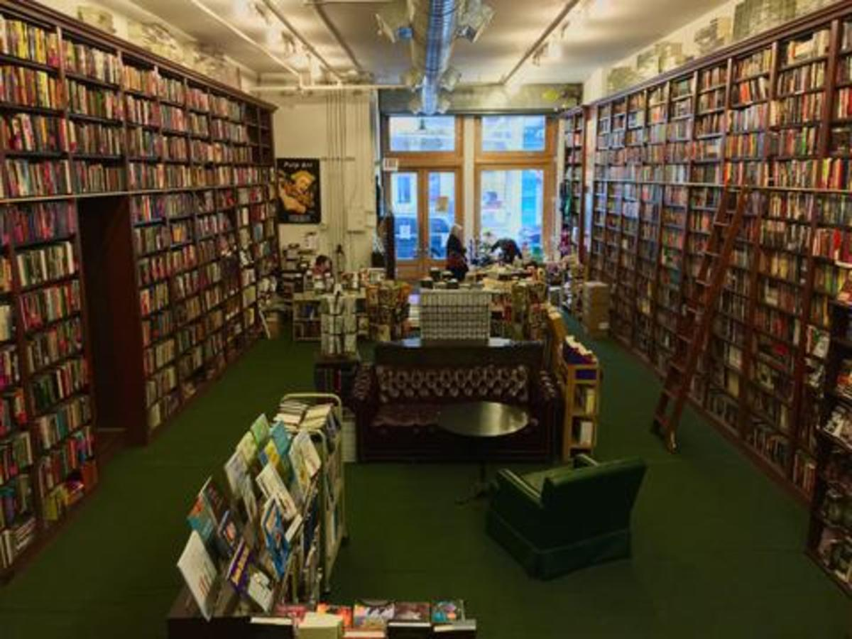 As you can see, it's easy to get lost in the stacks. Any mysterious questions you may have, the staff will gladly answer.