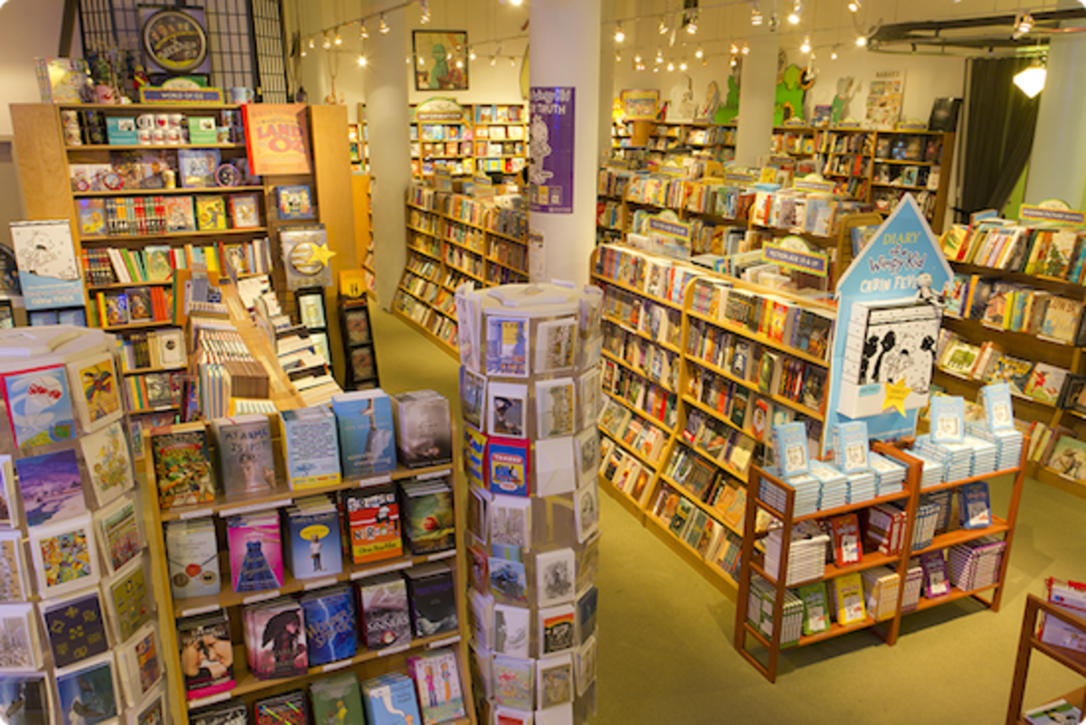 Books of Wonder is the perfect place to pass your love of books on to your children.
