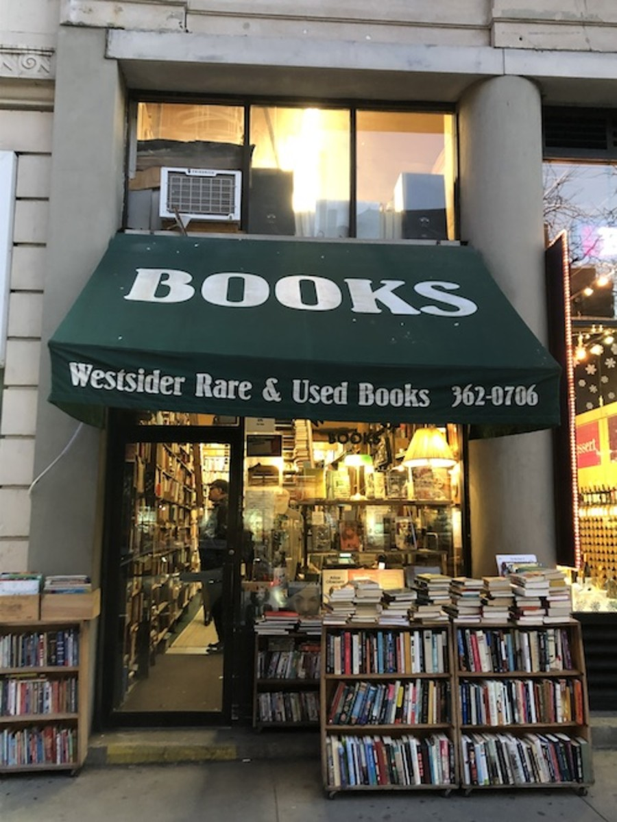 The Front of Westsider Rare & Used Books