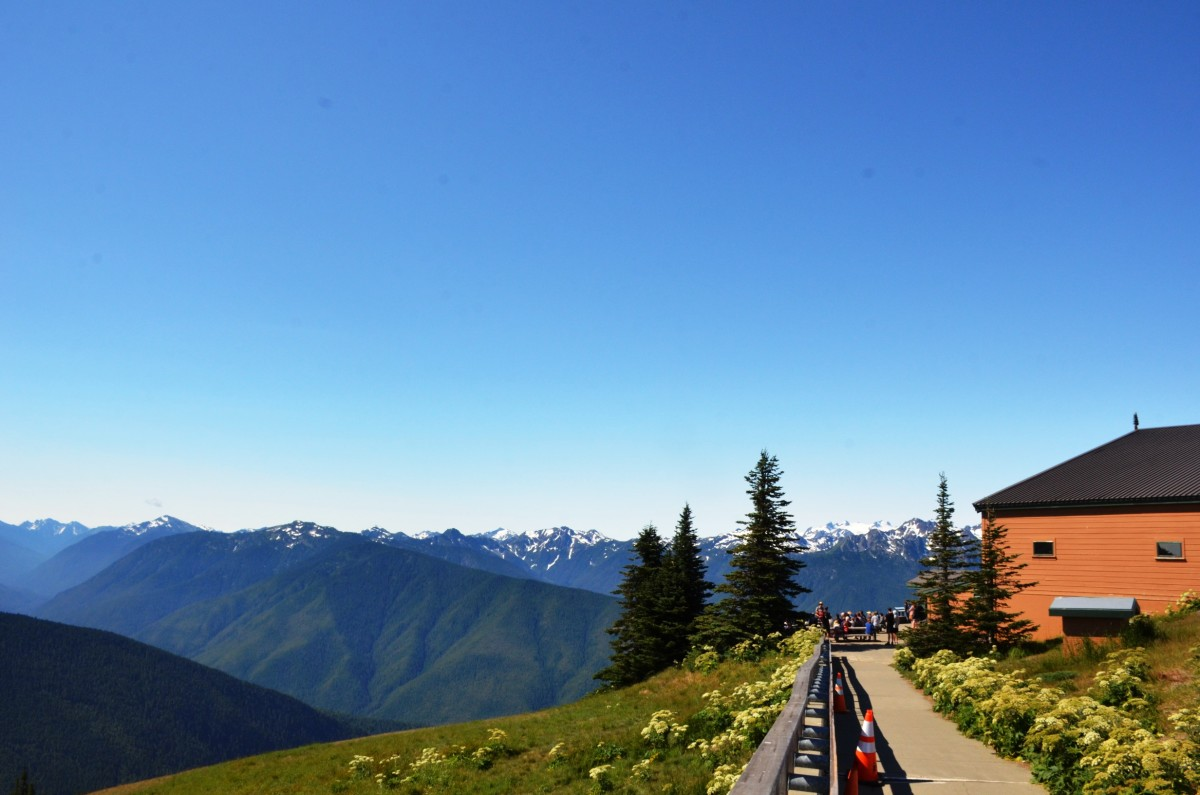 Hurricane Ridge Visitor Center at Olympic National Park in Seattle, Washington