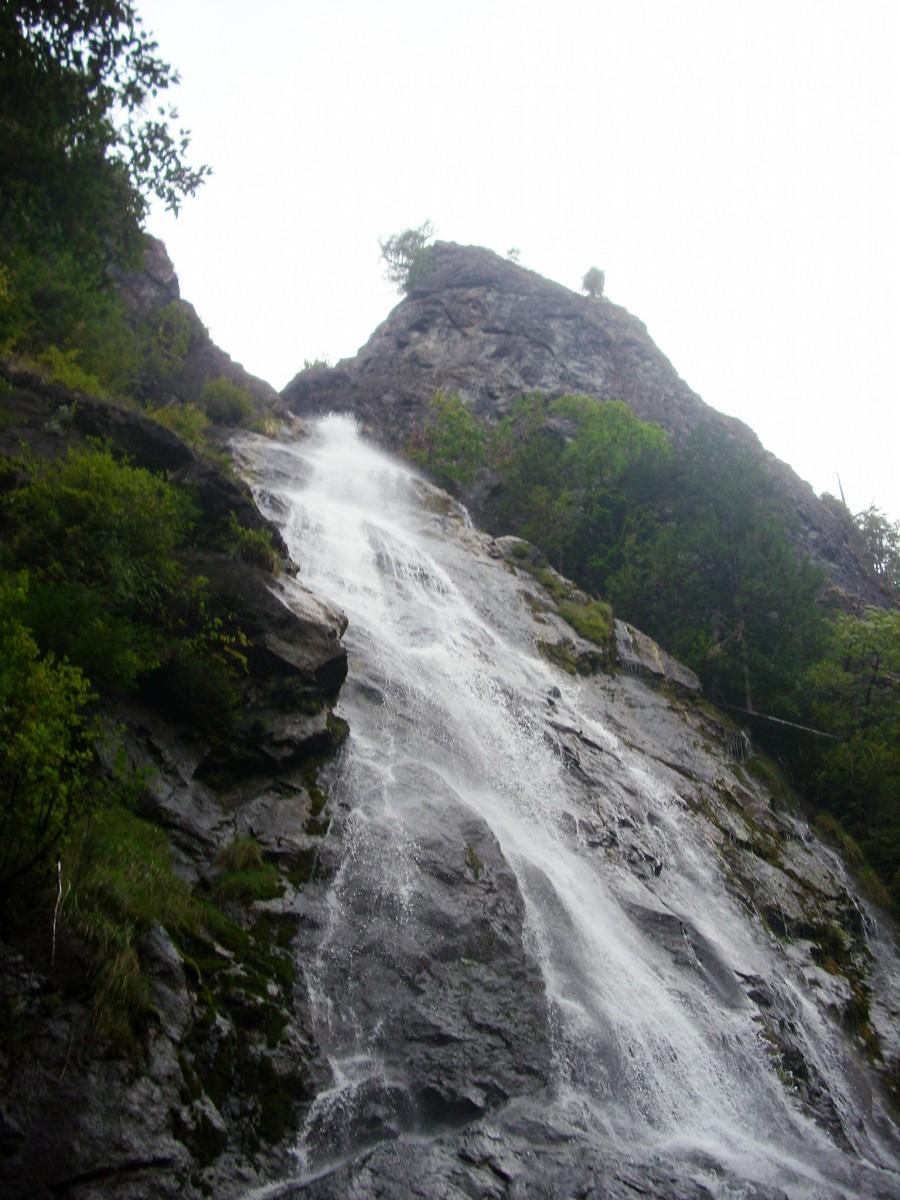 Rocky Brook Falls at Olympic National Park near Seattle, Washington