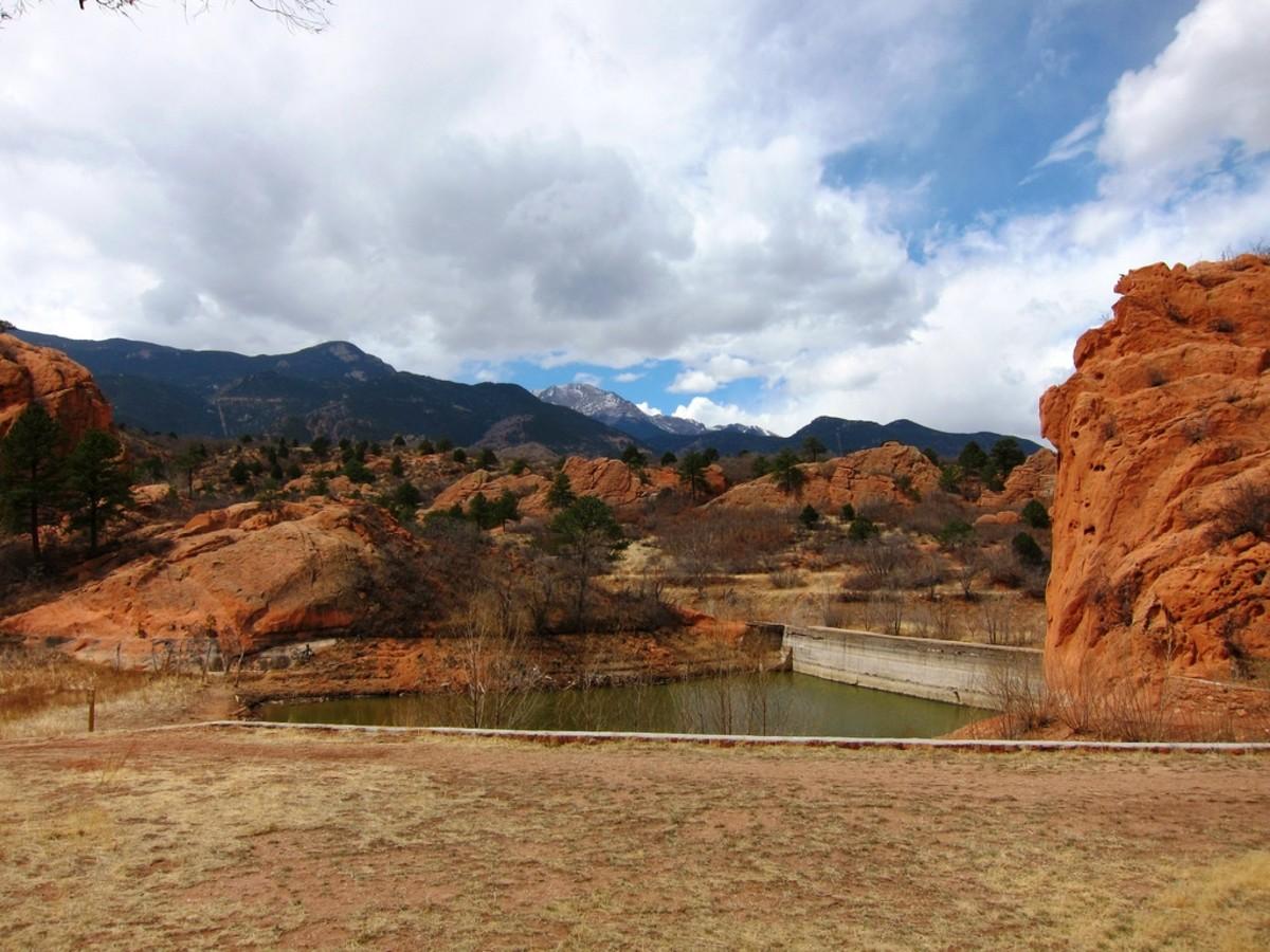 Red Rock Canyon Open Space in Colorado Springs, Colorado