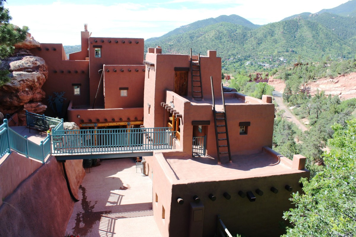 Manitou Cliff Dwellings near Colorado Springs, Colorado