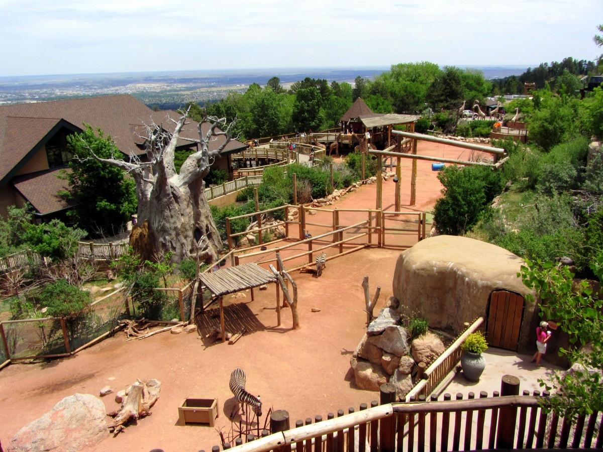 Cheyenne Mountain Zoo in Colorado Springs, Colorado