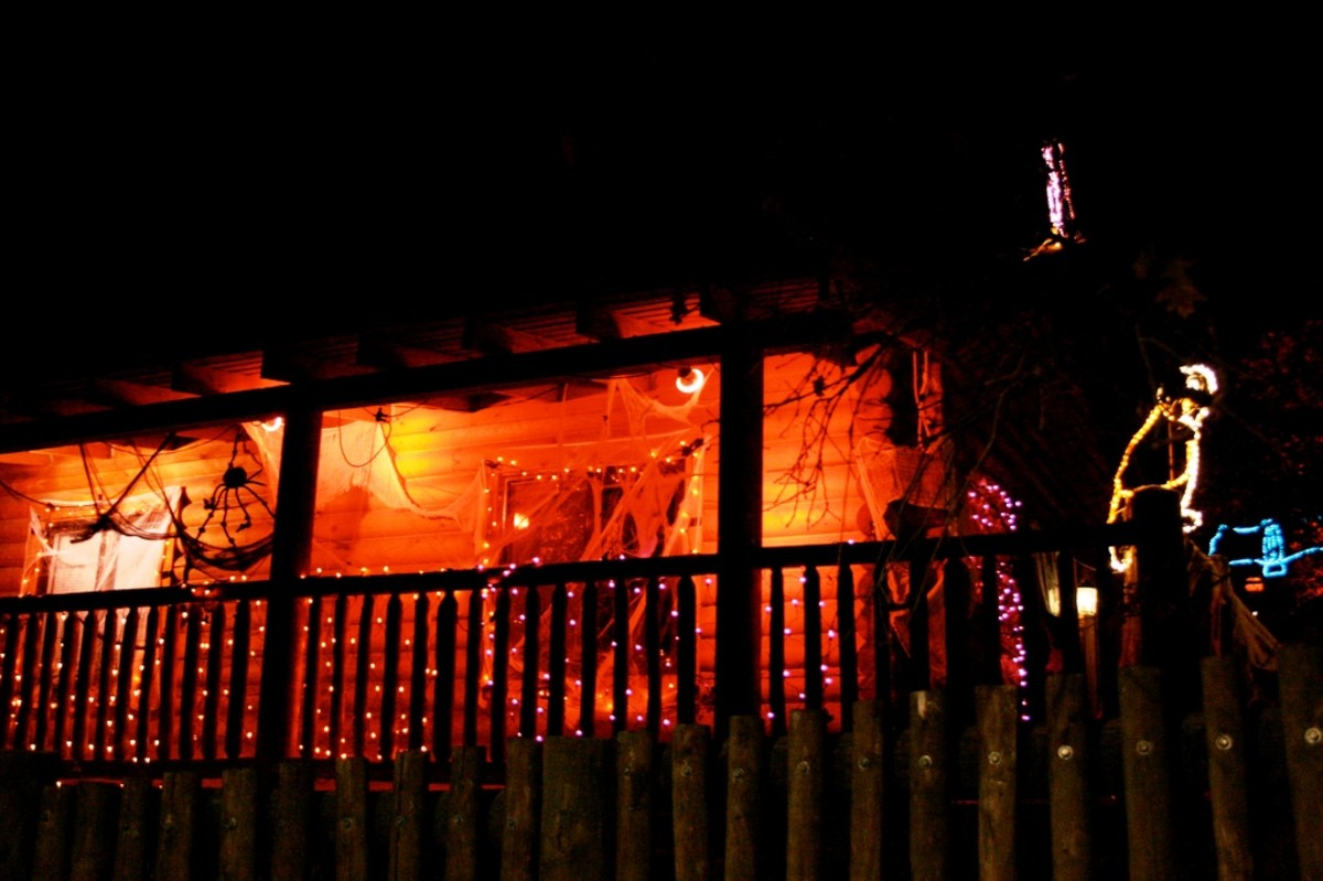 Haunted House in Cheyenne Mountain Zoo in Colorado Springs, Colorado