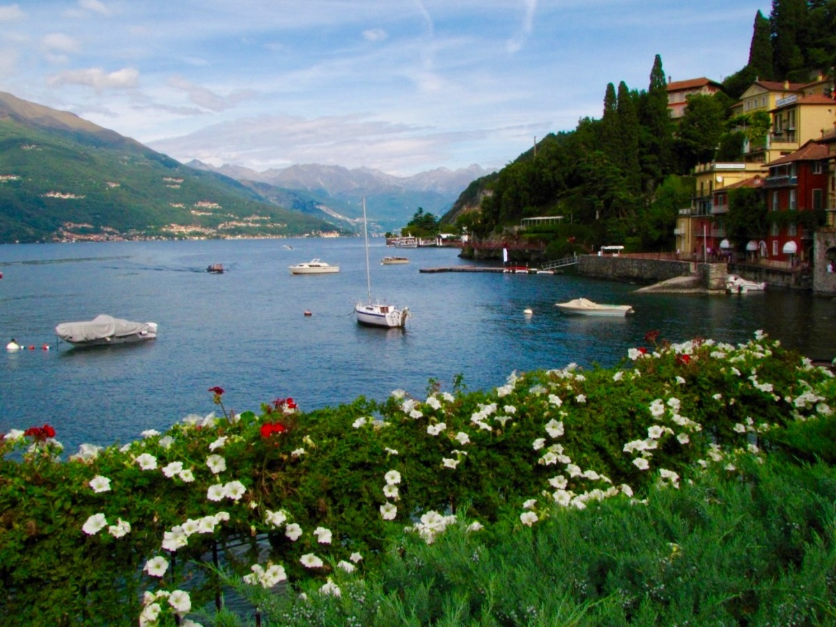 Or head to Lake Como for stunning scenery