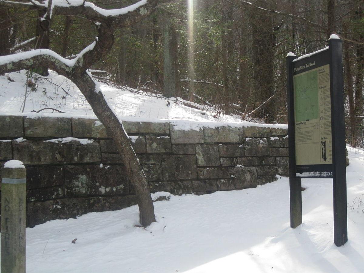 Mary's Rock Trailhead in Shenandoah National Park