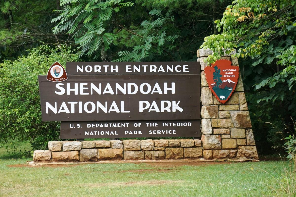 Skyline Drive in Shenandoah National Park