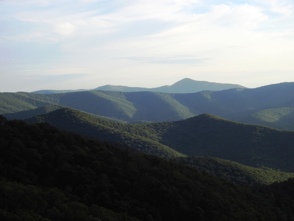 View from Skyline Drive in Shenandoah National Park