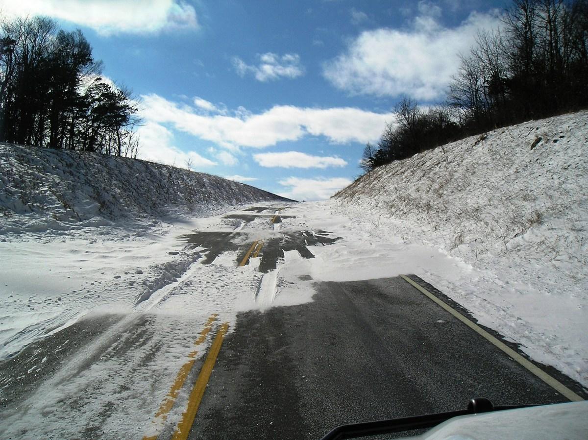 Skyland Drive in Shenandoah National Park