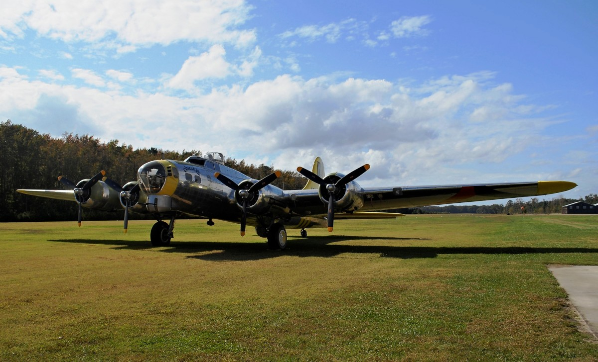 B-17G at the Military Aviation Museum in Virginia Beach, Virginia