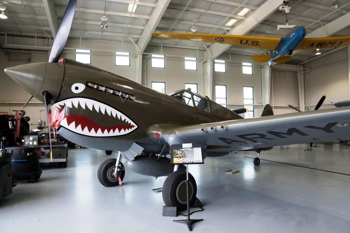 P-40 at the Military Aviation Museum in Virginia Beach, Virginia