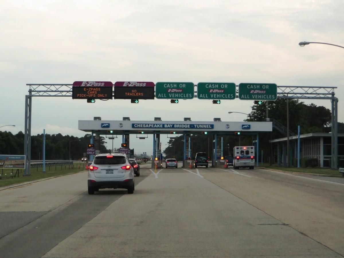 Chesapeake Bay Bridge-Tunnel Toll Booth