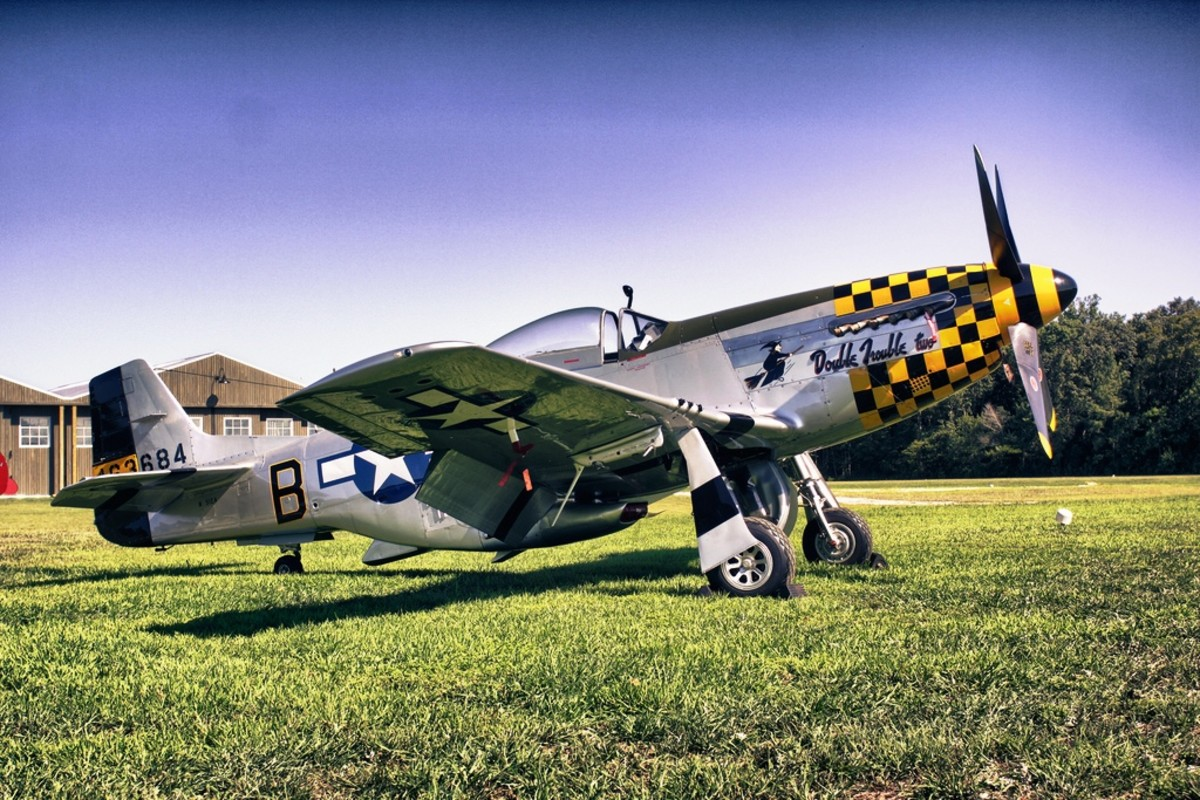 P-51D Mustang at the Military Aviation Museum in Virginia Beach, Virginia