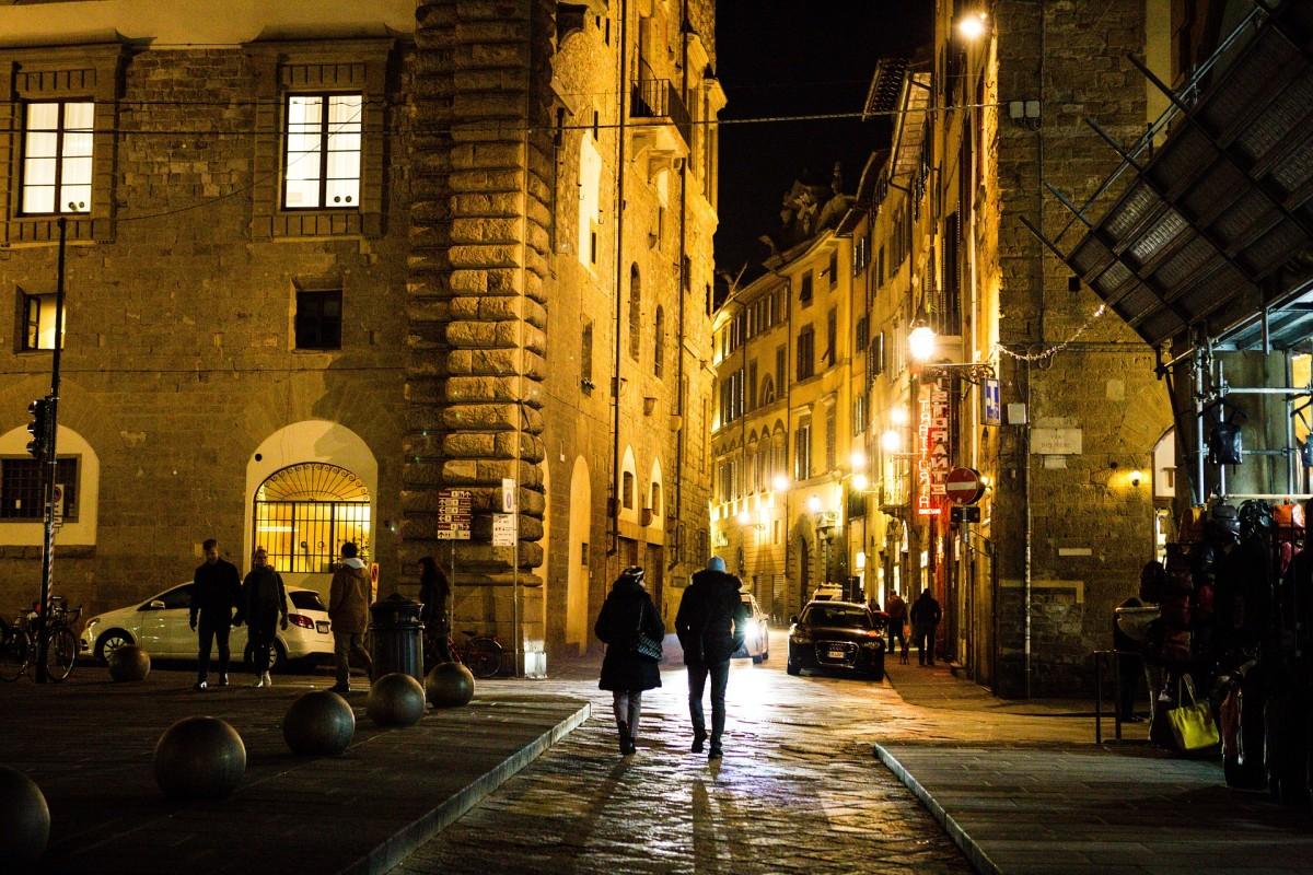 An Italian street - Florence