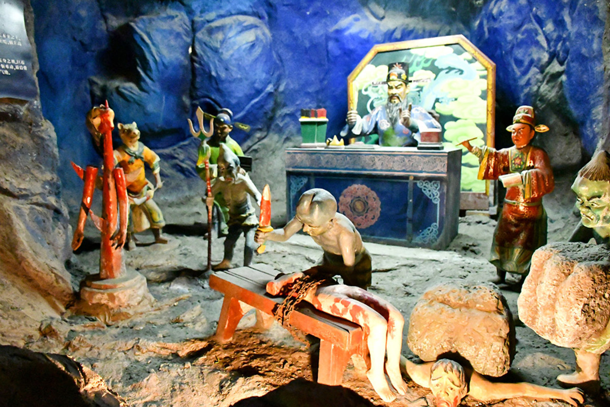 Haw Par Villa's Ten Courts of Hell display is also known as Hell's Museum. Here, no sinner goes unpunished.