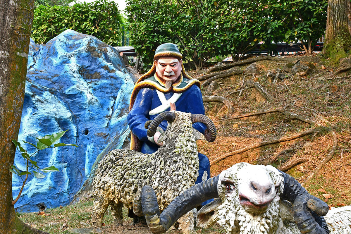Supposedly, Su Wu treated his sheep well too. The diplomat was simply morally perfect.