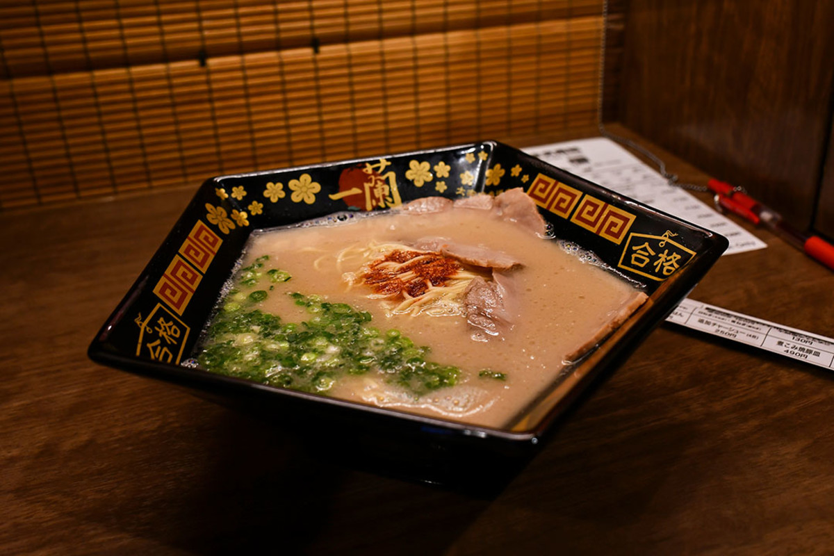 Ichiran Ramen is itself a Fukuoka attraction. The popular chain began as a humble ramen stall in Fukuoka in 1960.