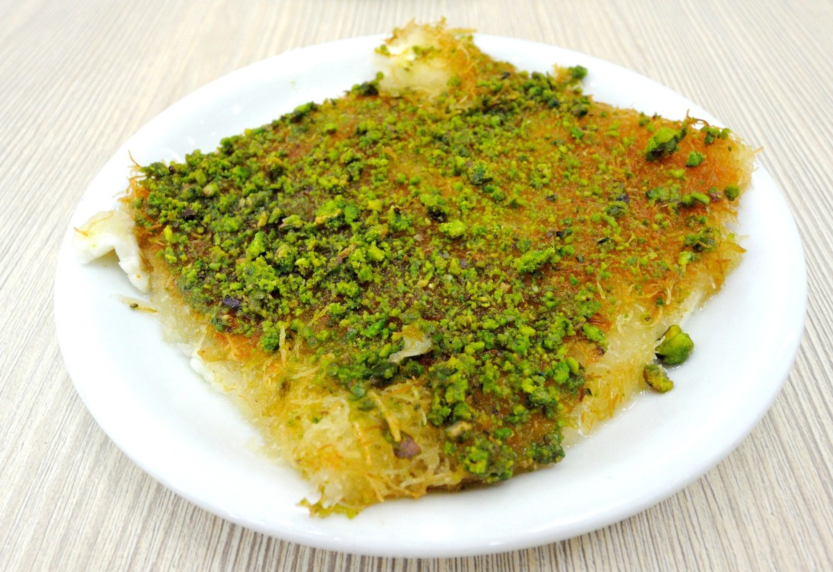 Kanafeh is highly addictive . . . be warned!