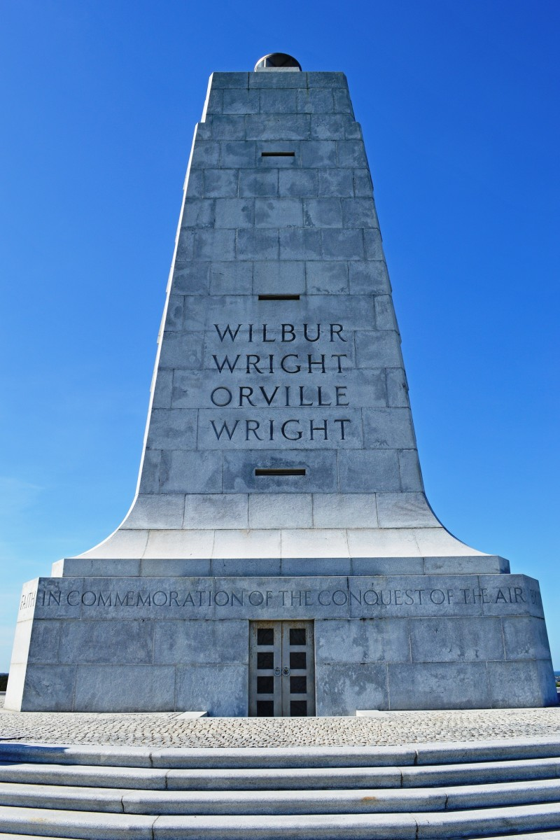 Wright Brothers National Memorial in Kitty Hawk, NC - Outer Banks North Carolina