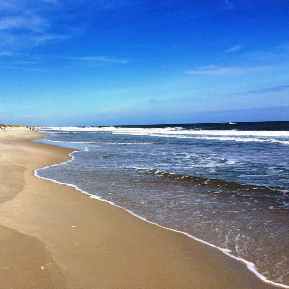 Ocracoke Beach, North Carolina - Outer Banks of North Carolina