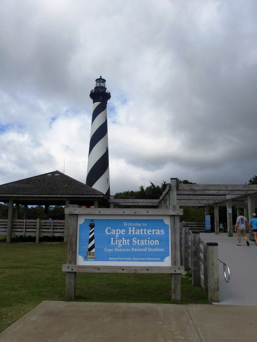 Cape Hatteras Lighthouse on the Outer Banks of North Carolina