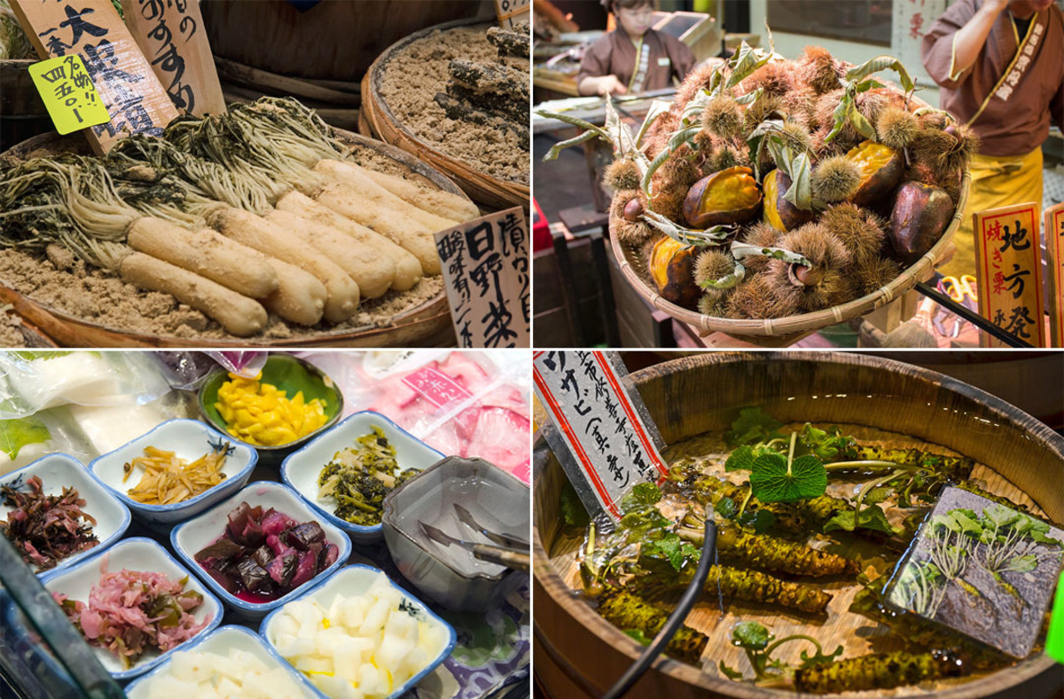 Nishiki Market is an absolute paradise for food photography enthusiasts.