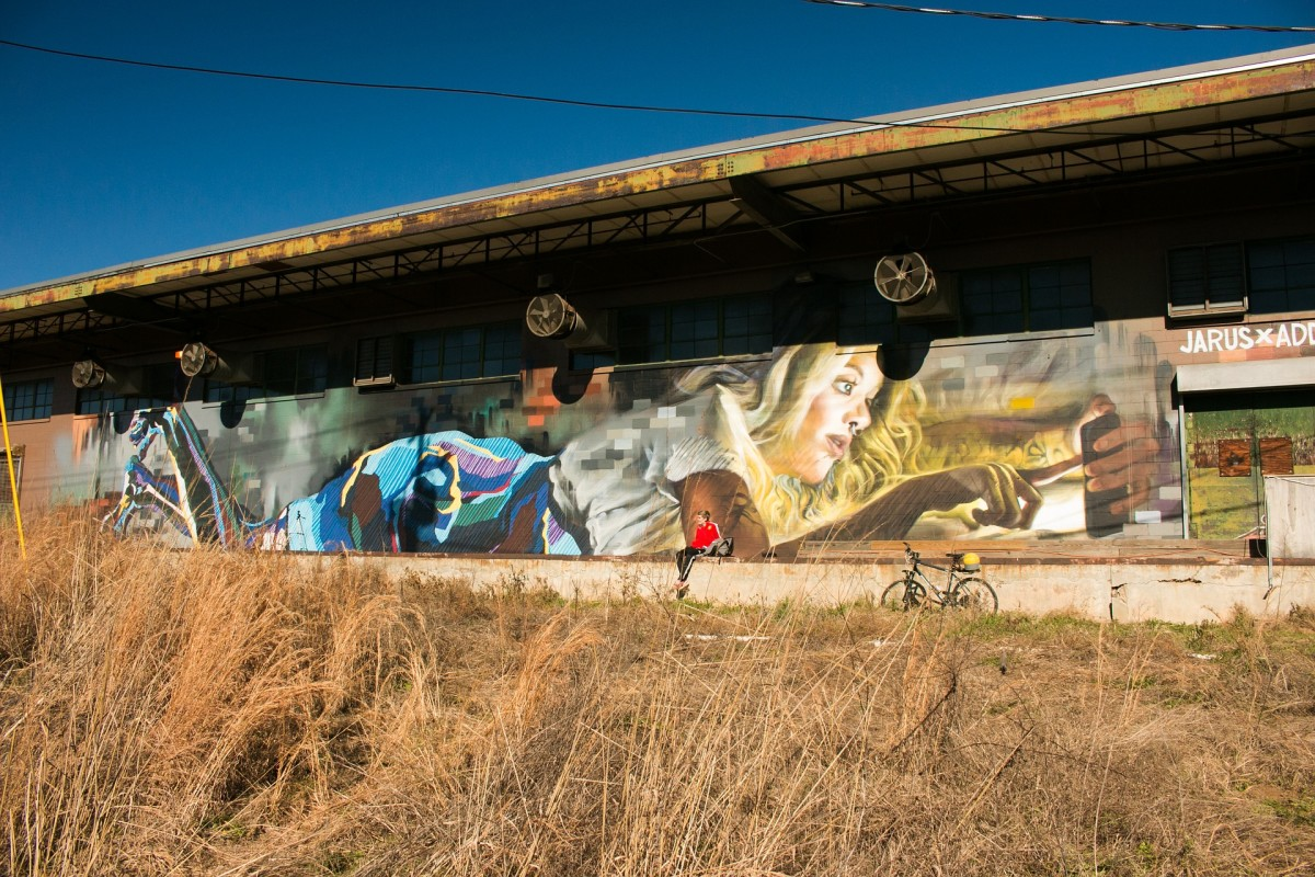 Just some of the urban artwork featured along the BeltLine.