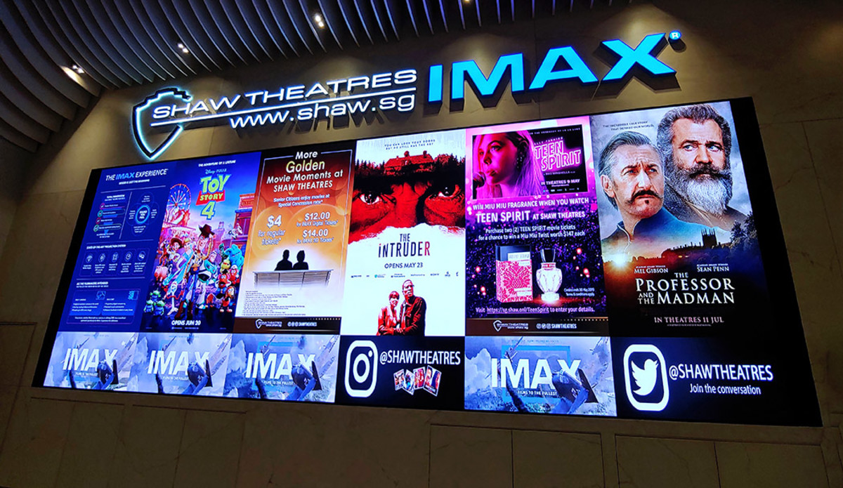 The latest in cinematic entertainment awaits at Shaw Theatres Jewel.