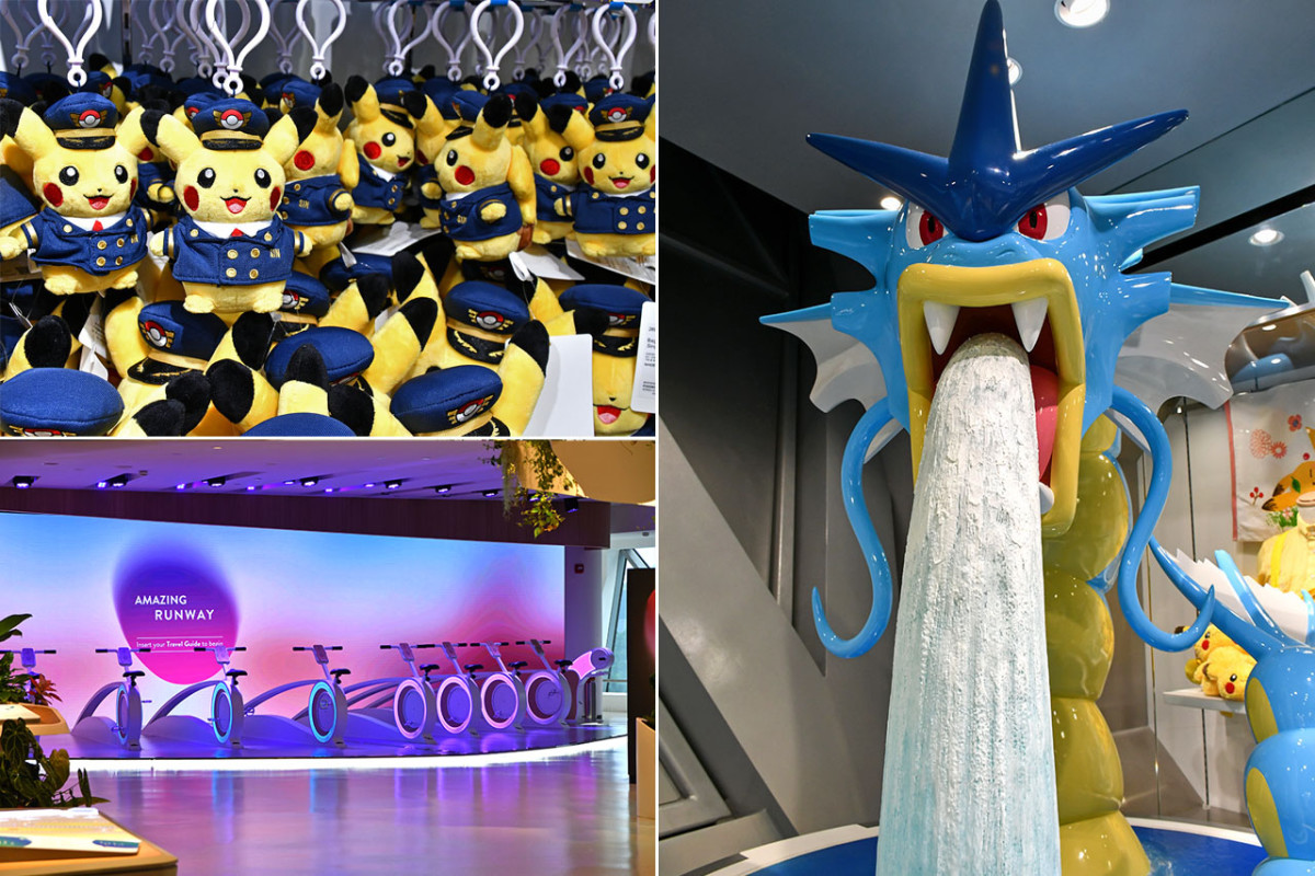 Pokémon Center Singapore and Changi Experience Studio.
