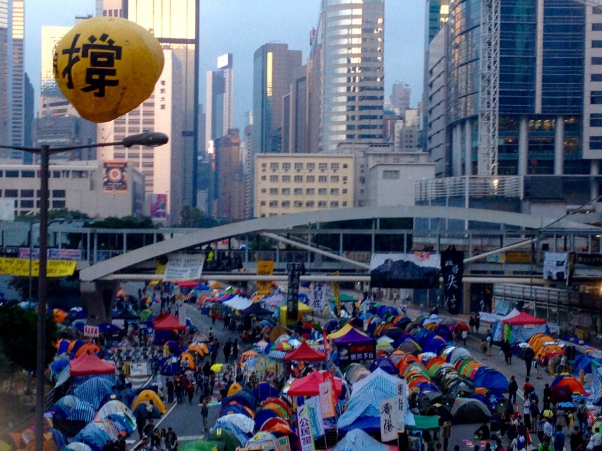 Hong Kong's Umbrella Revolution (c) A. Harrison
