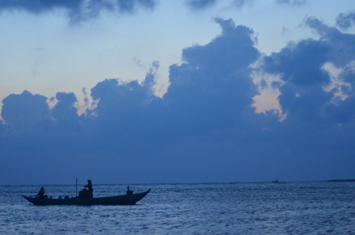 Fishing at dawn (c) A. Harrison