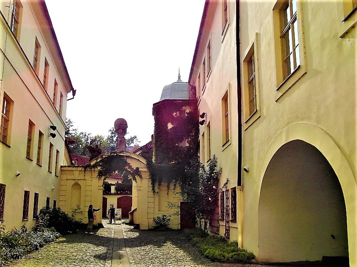 Entrance to Vrtba Garden.