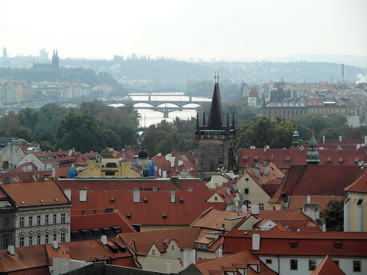 The River Vltava.